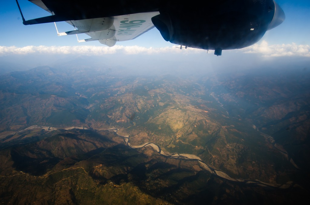 Flight to Lukla