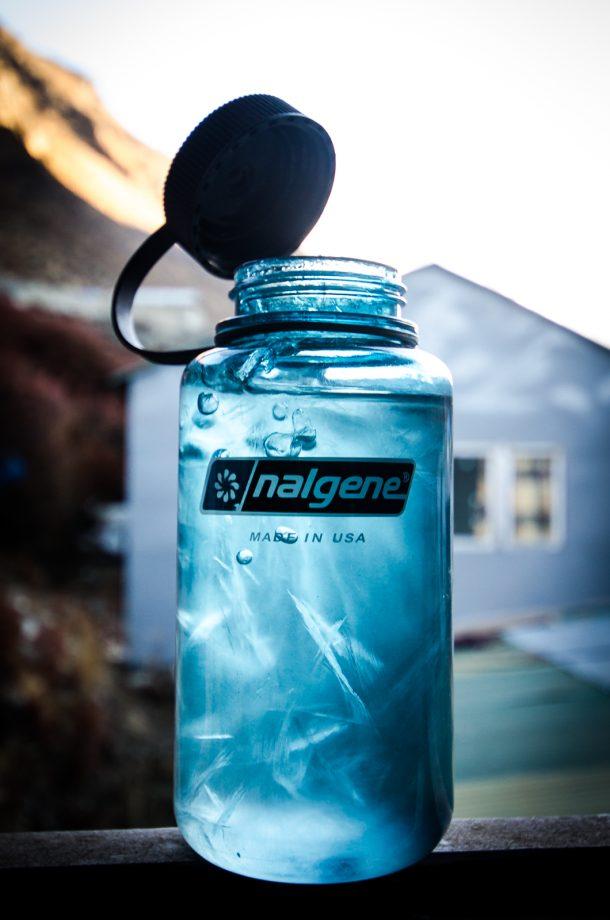Bottle Frozen Over