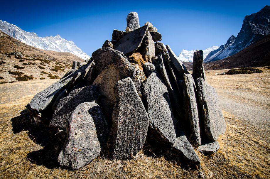Dingboche Mani Stones