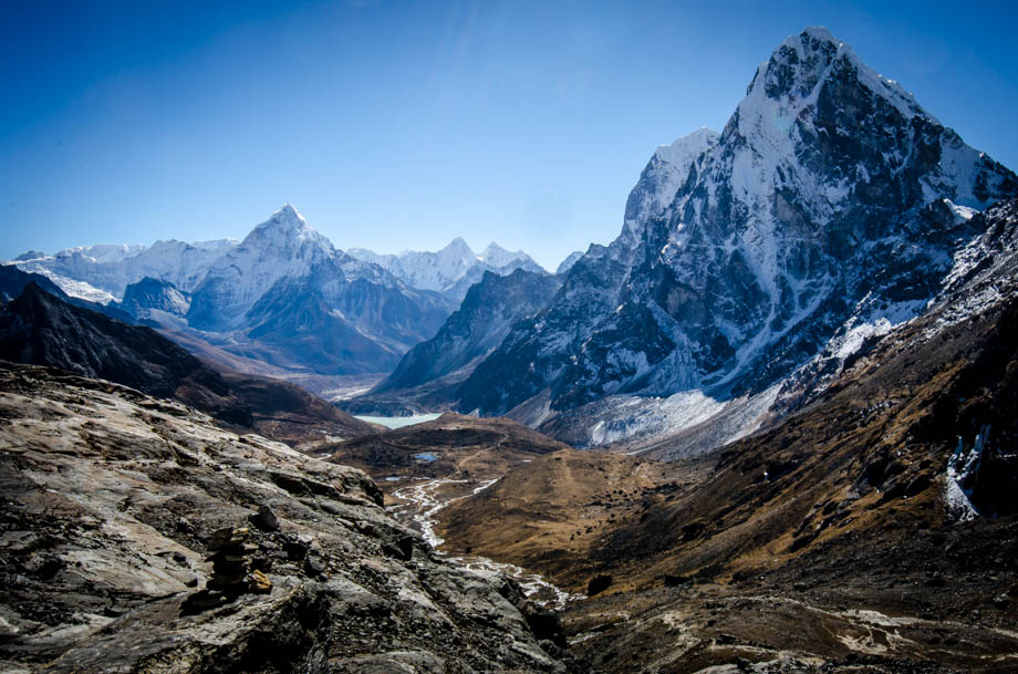 Cholatse and Ama Dablam