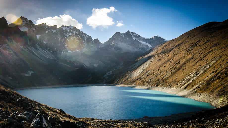 Gokyo's  4th lake, Thonak Tsho