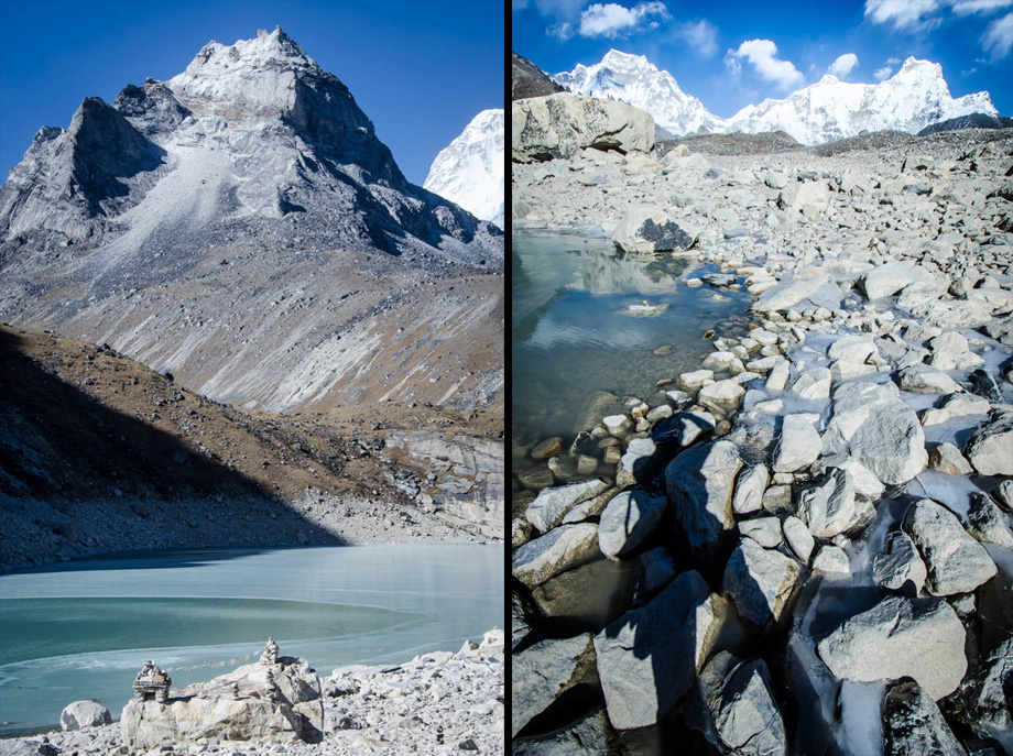 Gokyo's  5th Lake, Ngozumpa Tsho