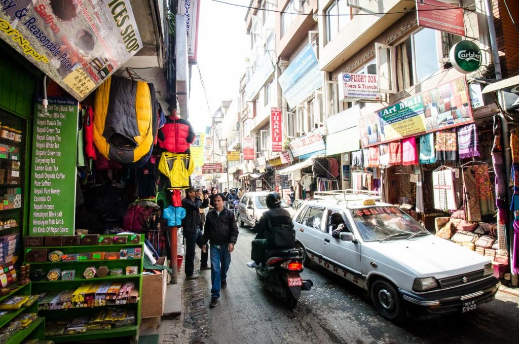 The Streets of Kathmandhu