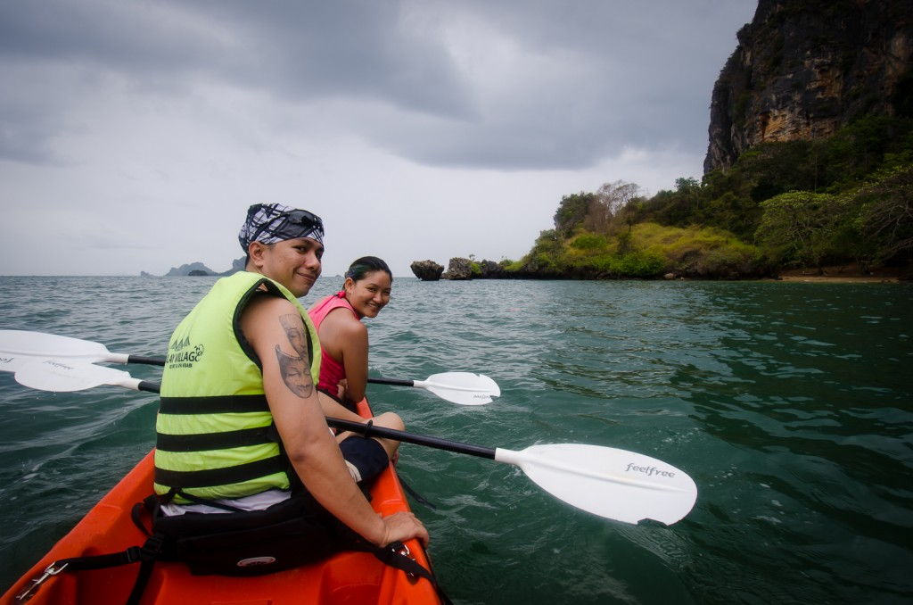 Kayaking West Railay