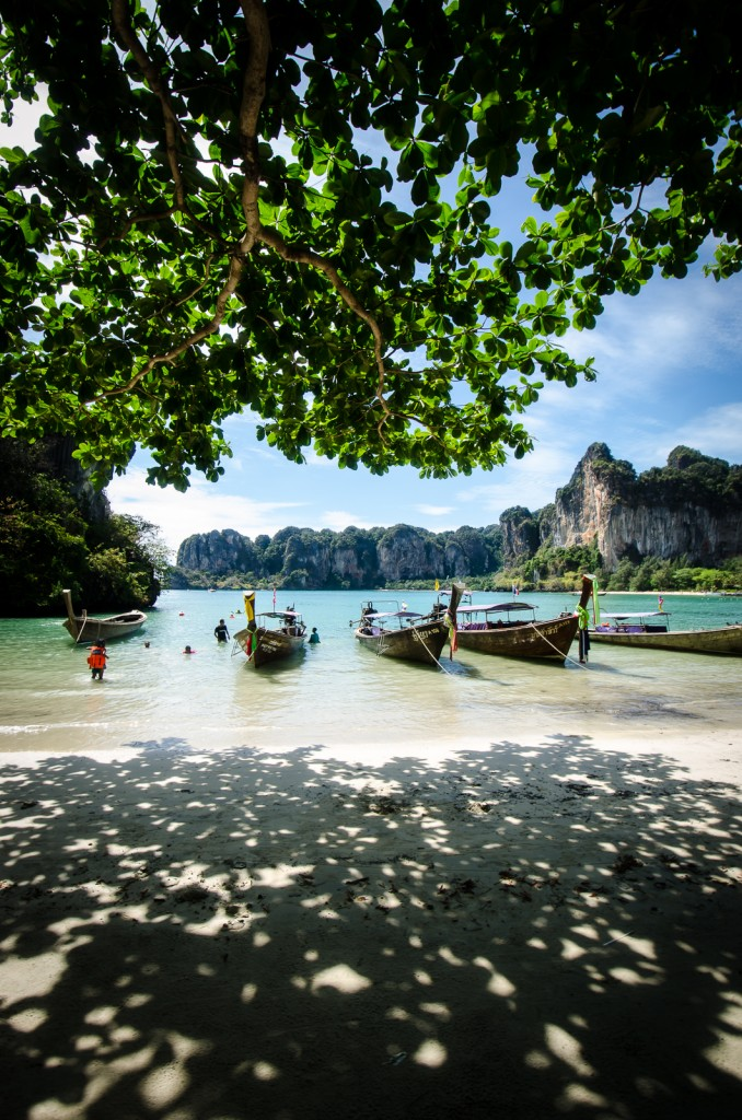 In the Shade at West Railay