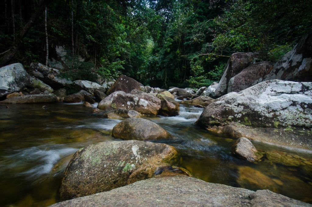 Baha's Camp Waterfall