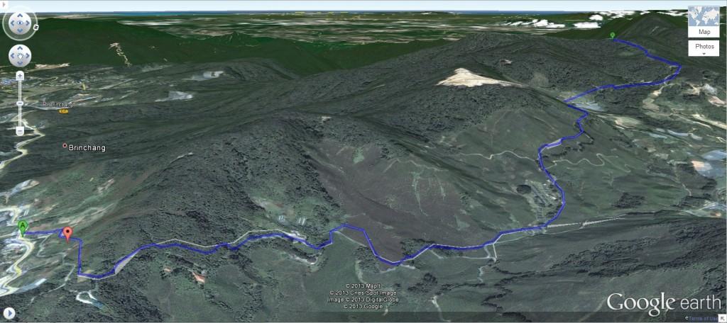 Brinchang Trail