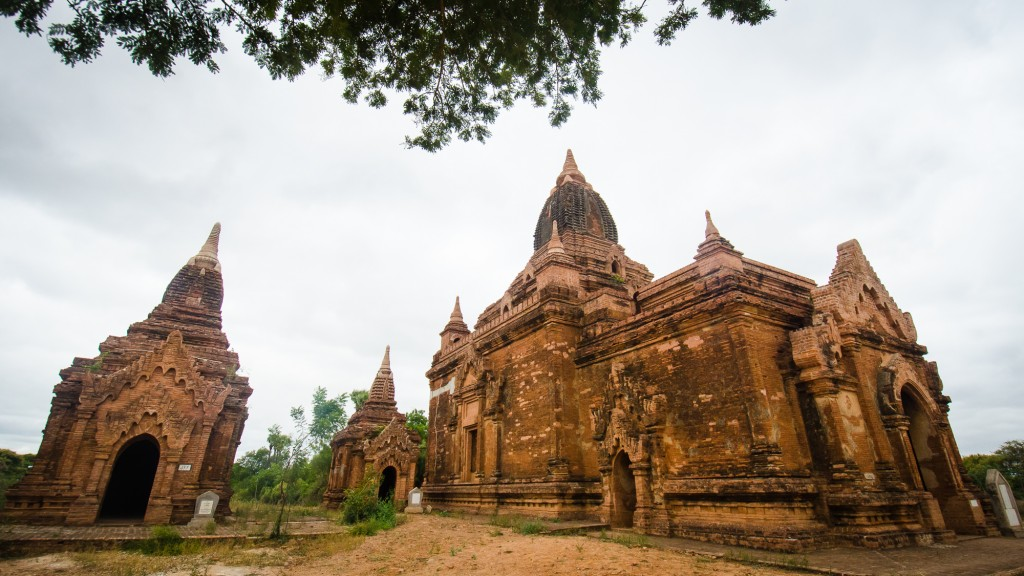Thagya Pone Temple in Bagan