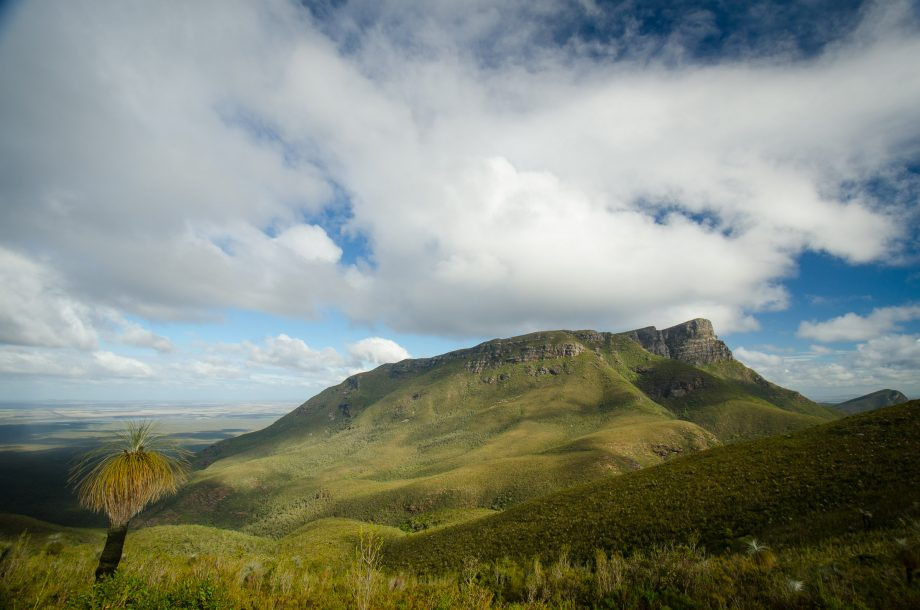 Looking to Bluff Knoll