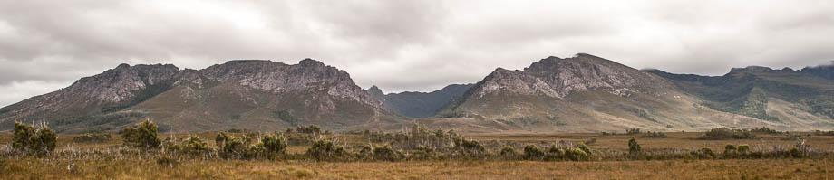 The Eastern half of the Western Arthur Range