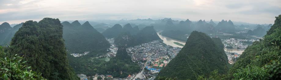 Views from Pantao Hill