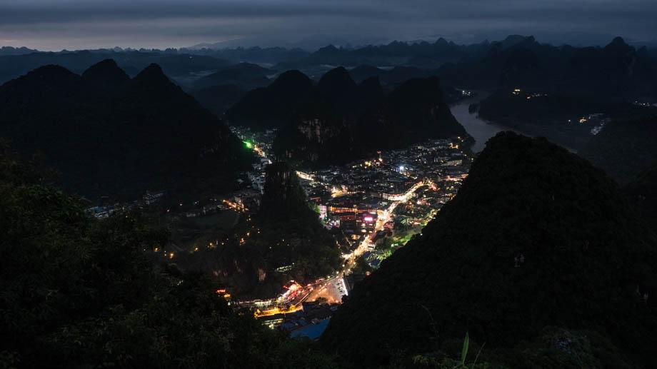 Night views from Pantao Hill