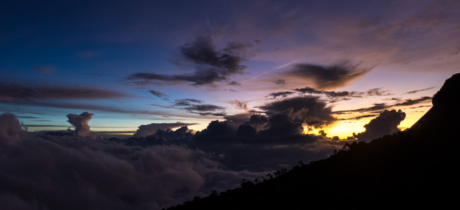 Sunset from Laban Rata