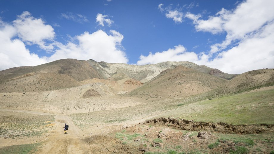 The long road to Kagbeni
