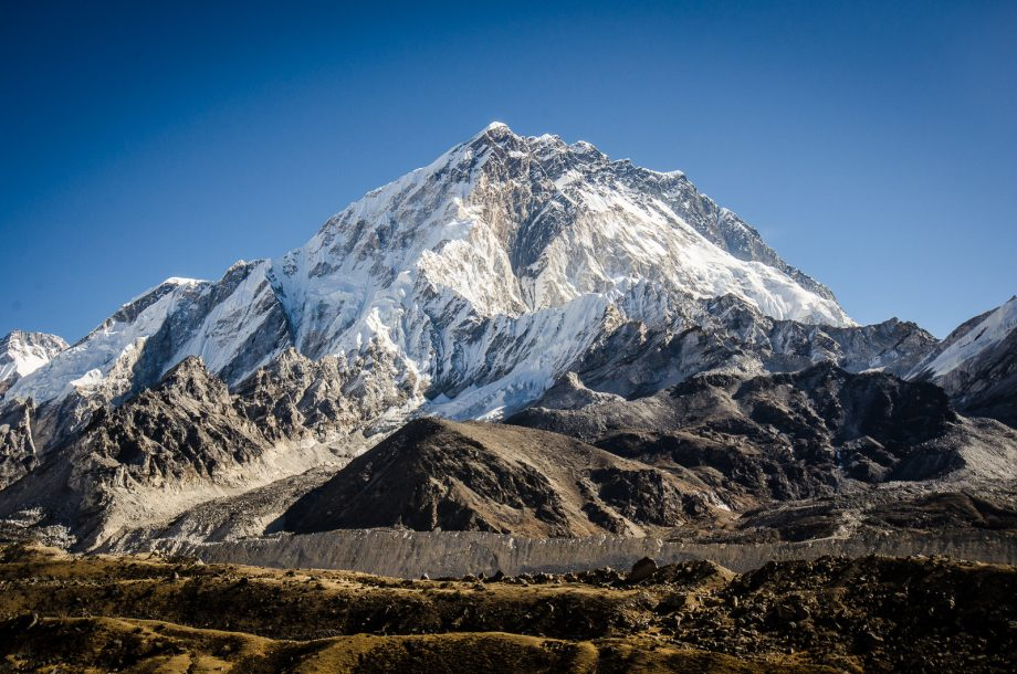 Nuptse at Everest Base Camp