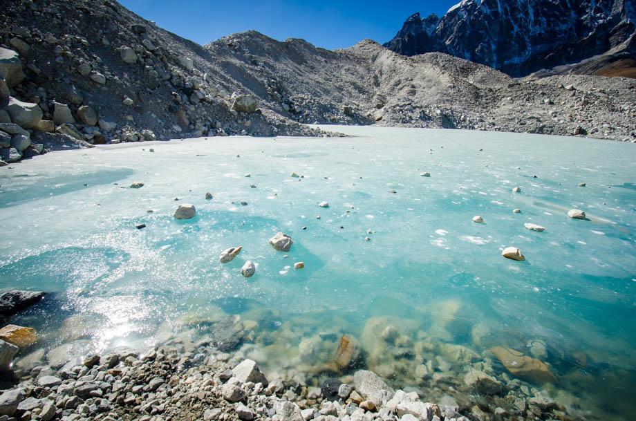 gokyo glacier lake
