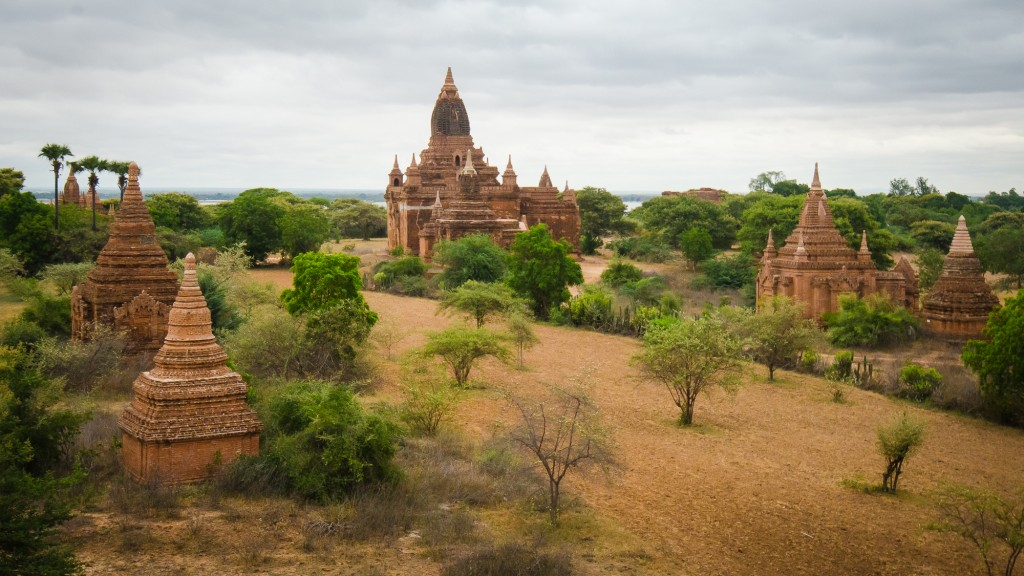 Thagya Hit Temple in Bagan