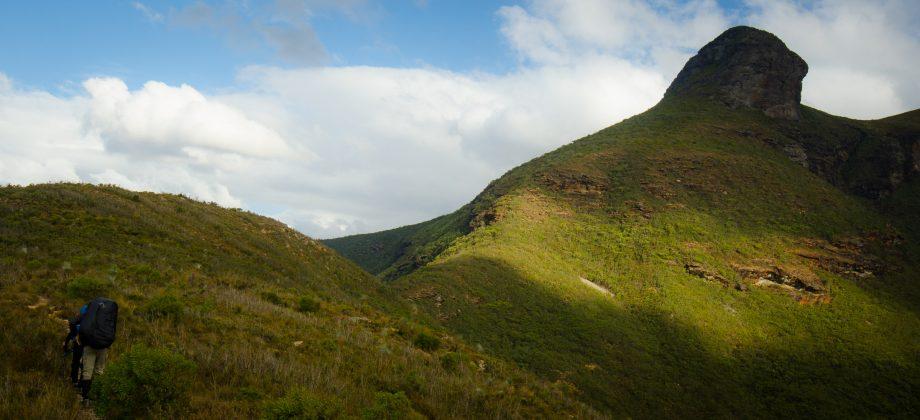 Approaching Ellen's Peak