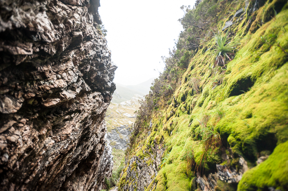 The Tilted Chasm