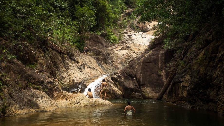 Upper Pool Jerangkang Waterfall