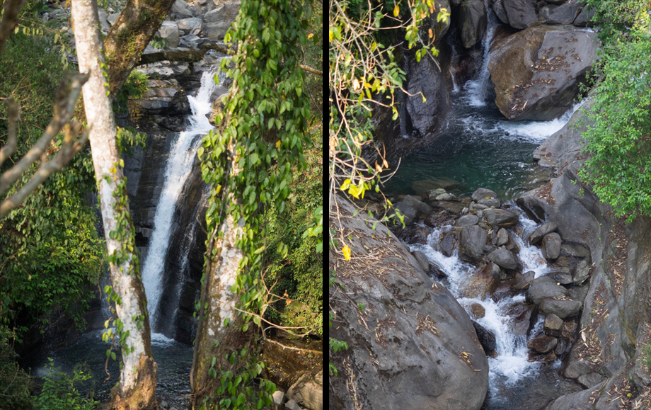 waterfalls before ulleri