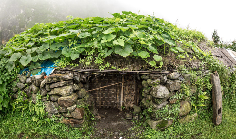 hobbit-like dwelling