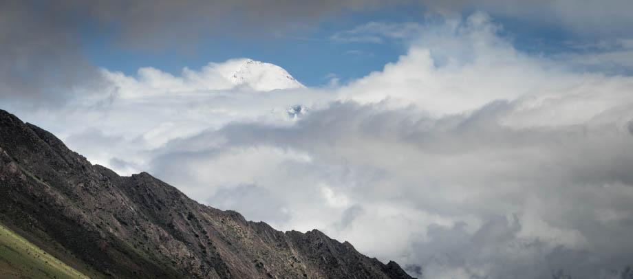 The peak of Dhaulagiri